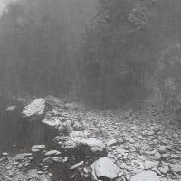 面河渓関門の様子(1月20日)