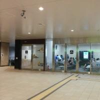 JR仙台駅の待合室とコンセント