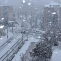 2017年初アップは、雪!
