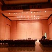 相模湖、ホールでレコーディング!?