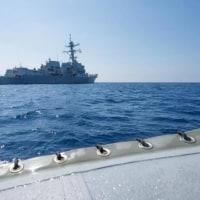 ◯ An American Vessel Denies China