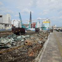 広島県福山市松浜町1丁目9・山下産業による解体工事2