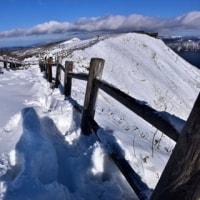雪の摩周湖へ・・。