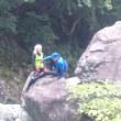 兵庫県福知渓谷で沢登りしてきたよん