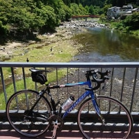 香嵐渓まで(75.07キロ走りました。)
