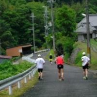 6/25(日)、「河内長野WALK&RUN」クラブ・定例会! 小雨の中 11キロ!