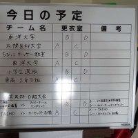東洋大学アイスホッケーチームの練習見学、御嶽海初日は惜敗・・・。