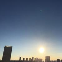 1/15の朝の空