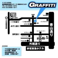 【LIVE INFO】4/6(木)赤坂GRAFFITI