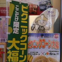 道の駅「禅の里」のピクニックコーン大福が旨い!