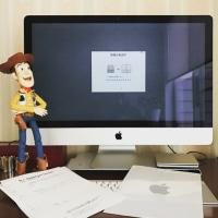 iMacのスタンド破損でサポートに(返却編)