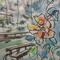 朝日記161208  「かれはヒットラーではないが、」と音楽絵画324箱根冬の旅と今日の絵