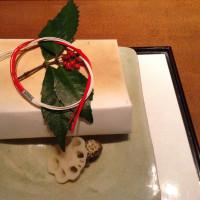 銀座神谷の懐石料理