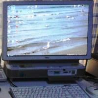 海王丸野鳥園に Vistaパソコン 持ち込み 管理者課長と激論   160911(日)