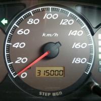 315,000キロ~\(^^@)/