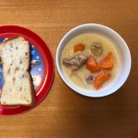 今日の離乳食(晩御飯)【204日目】