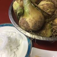 今が旬です‼︎自家栽培の朝掘り筍、新玉ねぎ料理