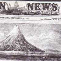 インドネシアのクラカタウが噴火した。