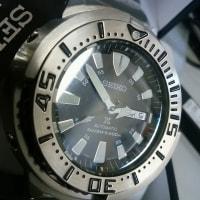 安い時計雑記2  seiko SRP637 baby tuna