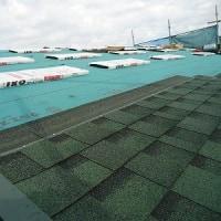 先週の工事~建て方、屋根