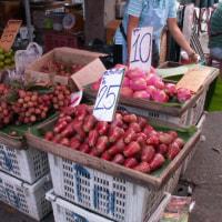 タイ パタヤのショッピングセンター(Big C)と市場。