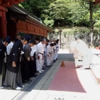 第1000回 古武術 貫前神社。