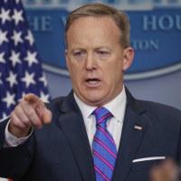 ホワイトハウス、一部のメディアを記者説明で締め出した。