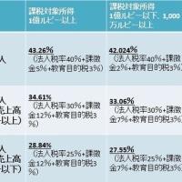2017年度予算案~法人所得税~