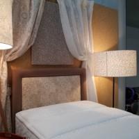 ウィリアムモリスのベッドルーム