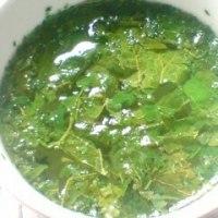 桑の葉茶作ってみた。