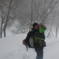赤岳鉱泉(2014.3.1~2)