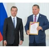 流し網禁止のイニシアティヴをとったネフゾロフが国家賞受賞