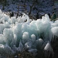 秩父の氷柱