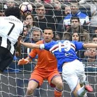 2016-17 SERIE A 第29節 SAMPDORIA 0-1 Juventus 後半相手シュート0に抑えるも惜敗・・・
