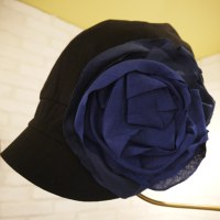 薔薇のキャスケット
