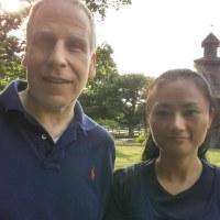 アメリカ人夫の坐禅体験記(My American husband's zazen experience)