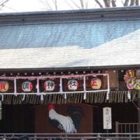 調神社で初詣