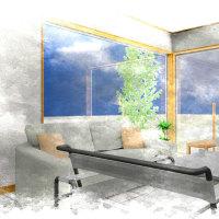 外側と内側をつなげる開口部(窓)の存在を間取りの中で丁寧に立体的に高さ方向の価値も含めてデザインに取り入れて設計の価値による暮らしの空間の違い・・・・・。