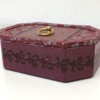 韓紙工芸作品 新作ご紹介「2017年展示会に向けて」(71)宝石箱のような小物入れ