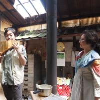 長野県より音楽愛好家夫婦見学