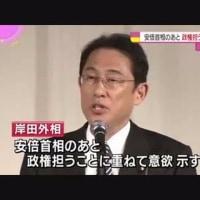 岸田文雄外相 安倍首相後の政権に意欲