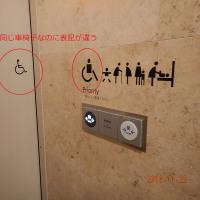新しい車椅子表記を発見!