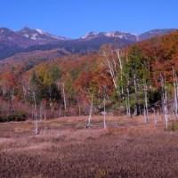 乗鞍高原、一の瀬園地の冬と秋