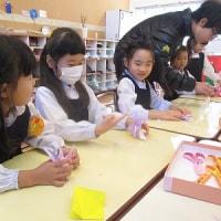 年長組・卒園生の折り紙教室
