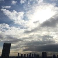 2/25の朝の空