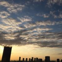 3/17の朝の空