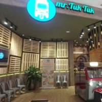 今注目の「Starling Mall」の中、タイレストラン「mr Tuk Tuk」に行って来た。