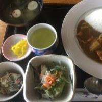 2月26日の日替り定食550円は 豚肉とトロトロ白菜のカレー です。