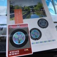 美観地区で倉敷市のマンホールカード