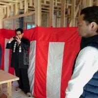 【家づくり教室】現場公開中~『強くて、安くて、安心の家』 上棟祭編 ~№3